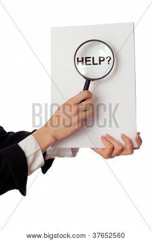 find help