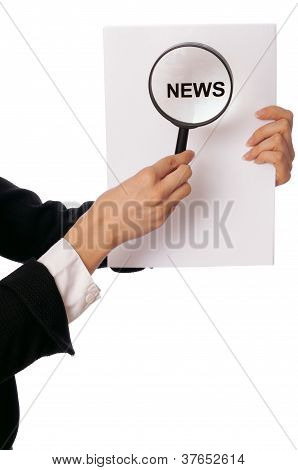 preparing hot news