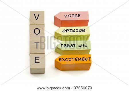 Vote Excitement Blocks