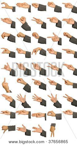 Hand Signs Language