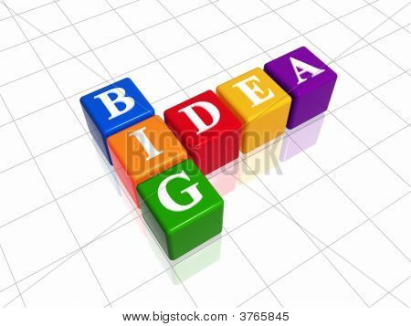 Big Idea - Colour Crossword