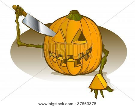 Pumpkin Carving Himself