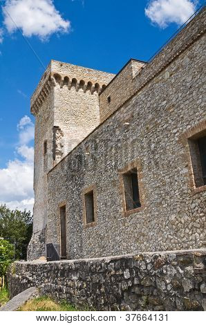 The Albornoz fortress of Narni. Umbria. Italy.