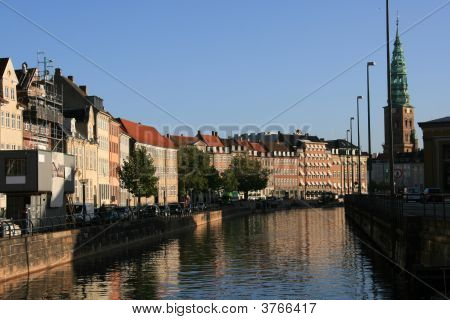 Townscape In Copenhagen