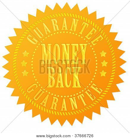 Money back guarantee gold seal