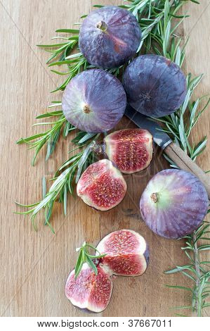 Fresh Figs And Rosemary