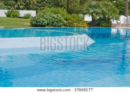 Detail Of A Swimming Pool