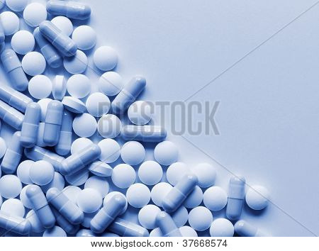 Pills Medicine Background
