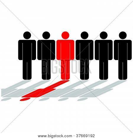 People Icon Vector Illustration