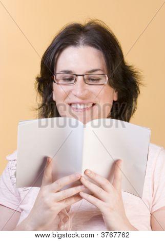 Young Woman Communication Technology
