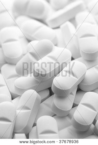White Tablet Pills