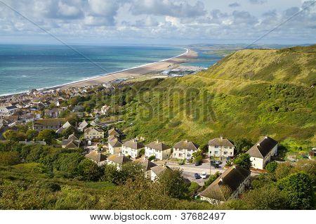 Portland and Chesil beach Dorset