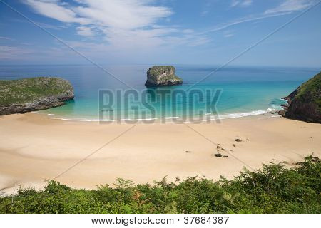 La Ballota Beach With Islet