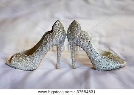 Diamante Wedding Shoes
