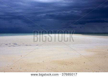Sand In Nosy Iranja Madagascar