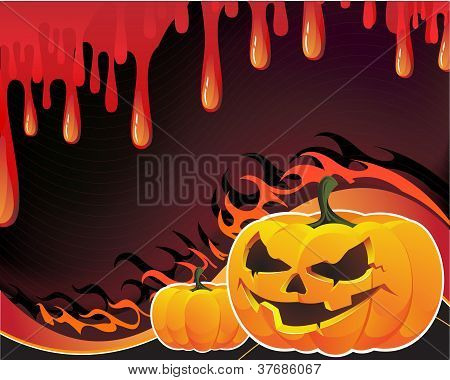 Pumpkins, Blood And Fire