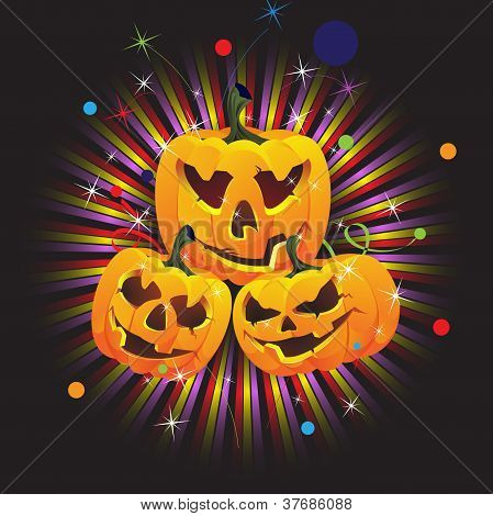 Laughing Jack O Lanterns