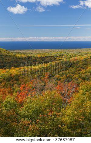 Autumn Hills & Lake Superior