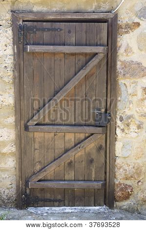 Old Traditional Wooden Door