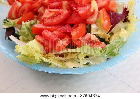 Fresh Salad In A Bowl