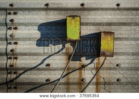 Rusty Electrical Boxes