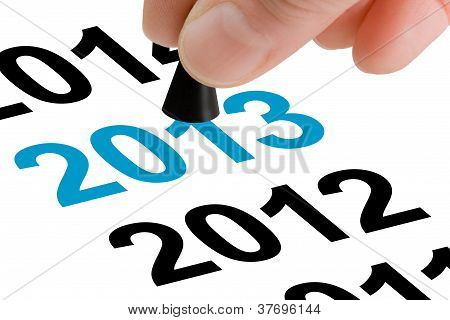 Step Into The New Year 2013