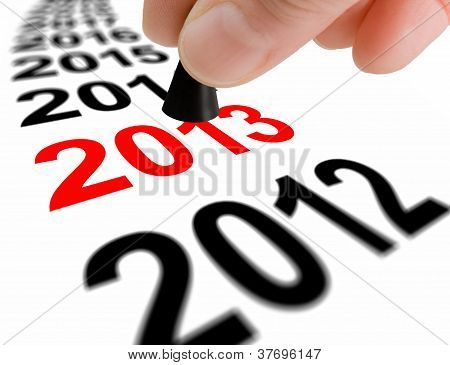 Step Into The Next Year 2013