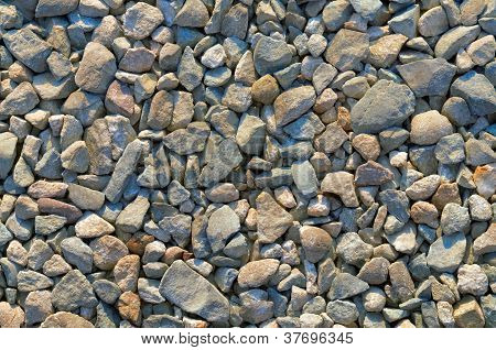 Coarse Gravel Texture Or Background