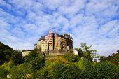 Picturesque nature panorama with Burg Eltz