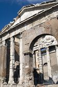 Building On Roman Forum