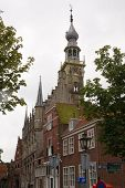 picture of veer  - City hall of Veere - JPG