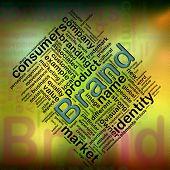 'brand' Wordcloud poster