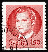 Postage stamp Sweden 1984 Carl XVI Gustaf, King of Sweden