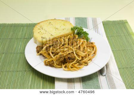 Spaghetti Mahlzeit