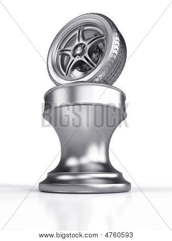 Silver Award Wheel