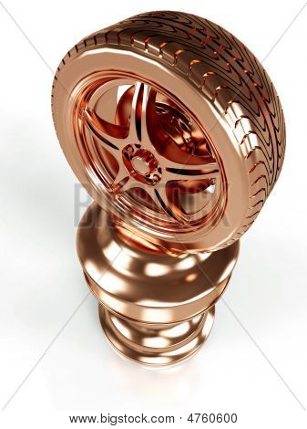 Bronze Award Wheel