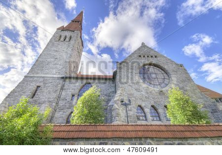 Tampere Cathedral Famous Landmark In Finland