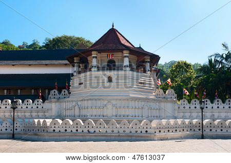 Sacred Tooth Relic At Kandy, Sri Lanka
