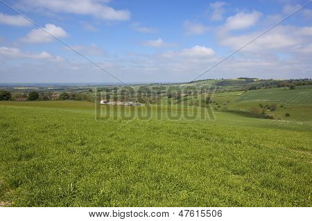 Scenic Yorkshire Wolds