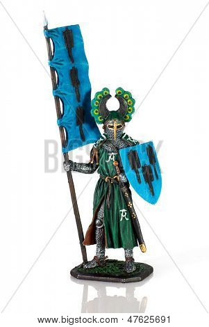 Miniature figurine Knight