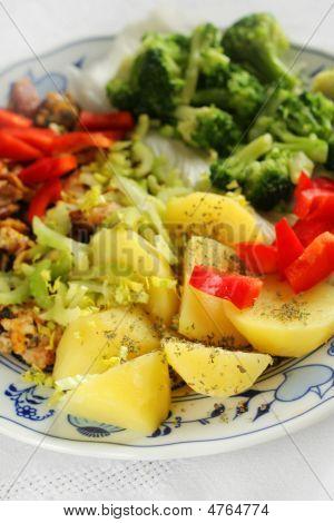 Vegetarian Lunch