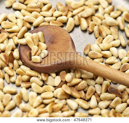 Roasting Pinenuts In A Pan