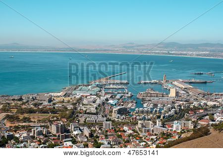 View Of Cape Town Harbor