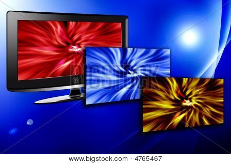 Lcd Plasma Tv With Power