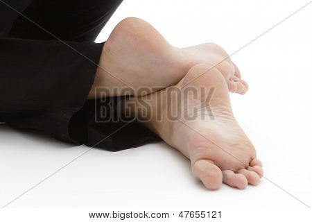 Position Of The Feet In Yoga