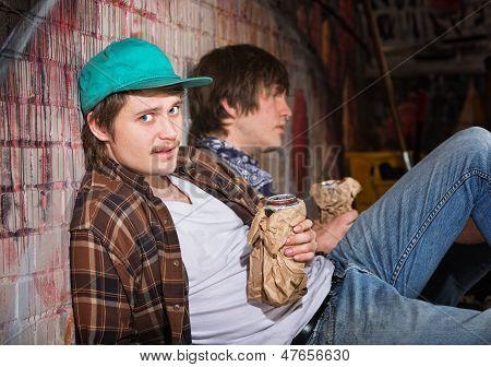 Drunk Young Men