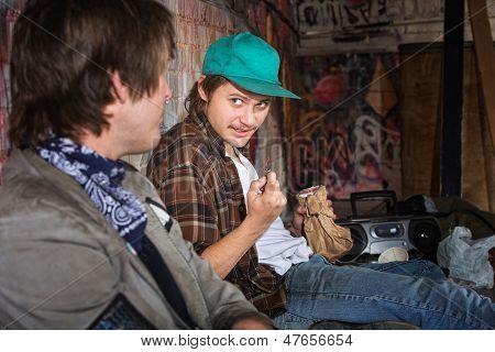 Homeless Teens Talking