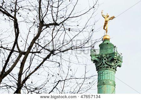 July Column In Paris