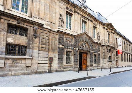 The Carnavalet Museum In Paris