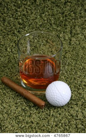 Whiskey & Cigar